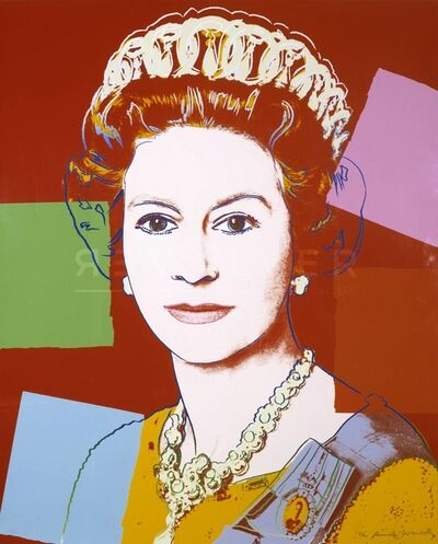 Andy Warhol, 'Queen Elizabeth II of the United Kingdom (FS II.334) ', 1985