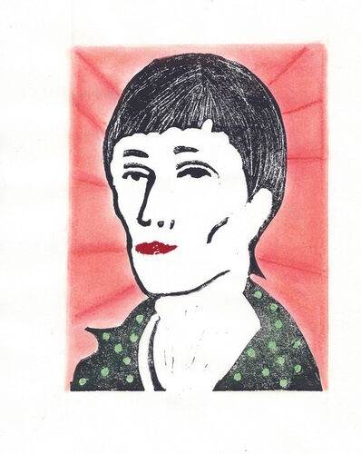 Afsoon, 'Anna Akhmatova from the Poets in Heaven series', 2014-15
