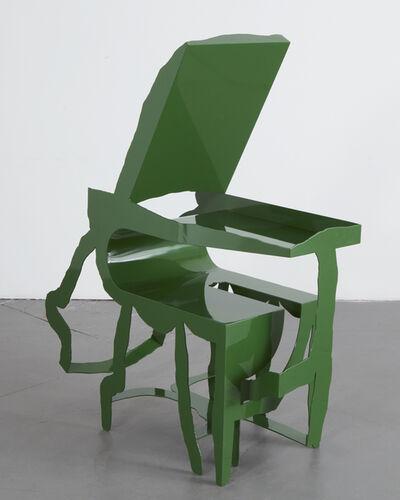 "Serban Ionescu, '""Slipova"" sculptural chair. ', 2019"
