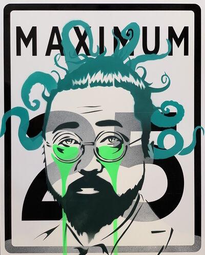 Pure Evil, 'Murakami medusa Maximum 25', 2019