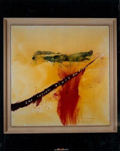 Julian Schnabel, 'Las chachas finas son dificil de encontrar', 1996