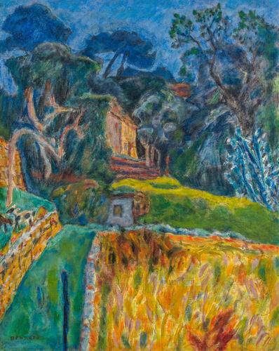 Pierre Bonnard, 'Paysage méridional - L'enclos aux chèvres', 1944-1945