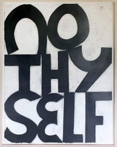 Allan Graham, 'No Thy Self', 2016