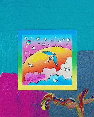 Peter Max, 'Angel Clouds on Blends (Ref. # 409)', 2007