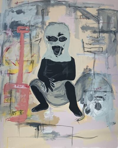 Jammie Holmes, 'War Babies', 2019