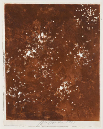 Joe Goode, 'Shotgun (Environmental Impact Drawing #16)', 1981