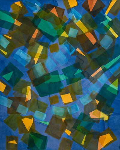 Pedie Wolfond, 'Yellow Squares', 2015
