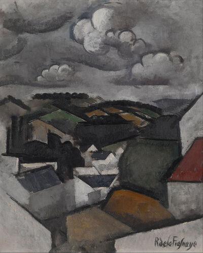 Roger de la Fresnaye, 'Landscape with a Village, The Hills Beyond Meulan', 1911