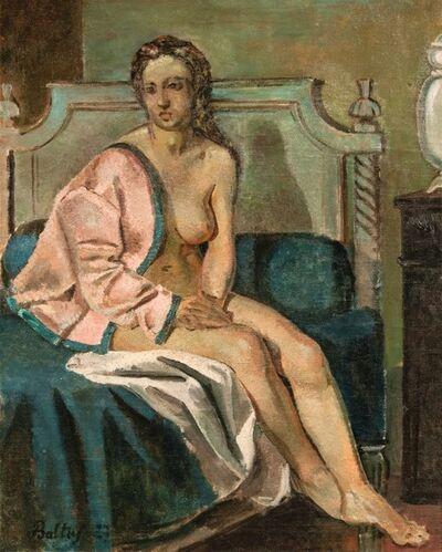 Balthus, 'Nu à la veste rose, la rêveuse', 1927