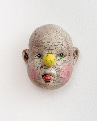 Tom Bartel, 'Medium Doll Head, Yellow Nose', 2018