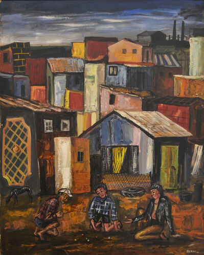 Antonio Berni, 'Juanito y sus amigos (Juanito and His Friends)', 1960