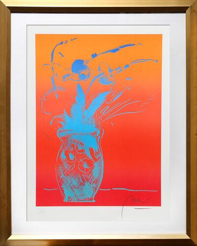 Peter Max, 'Blue Vase', 1981