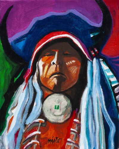 John Nieto, 'Two Moons - Cheyenne', 2019