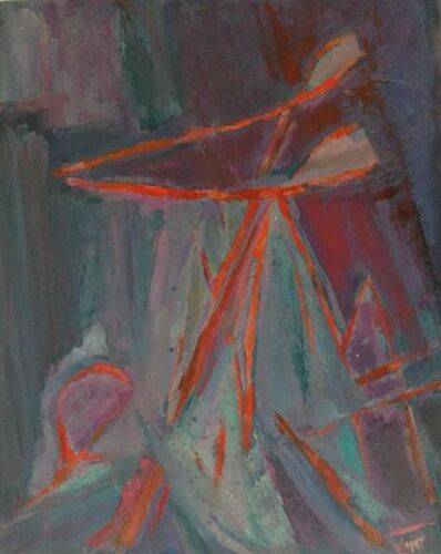 Rose Kuper, 'Abstract Expressionist Untitled', 1970-1979