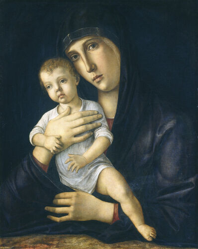 Giovanni Bellini, 'Madonna and Child', ca. 1480/1485