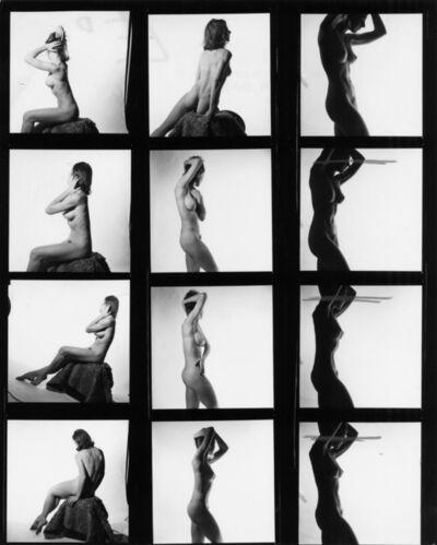 Peter Basch, 'untitled contact sheet (164 A)', ca. 1960