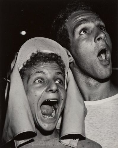 Weegee, 'Boys at Premiere, Los Angeles', circa 1951