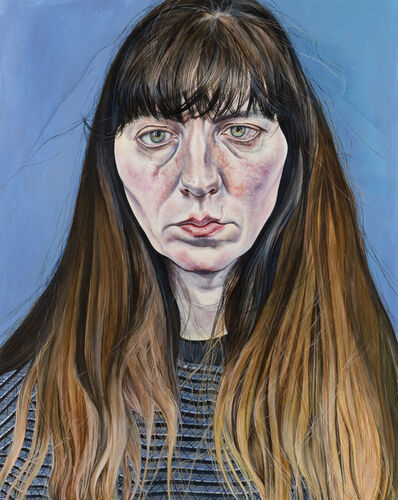 Ishbel Myerscough, 'Self-portrait; Misery', 2018