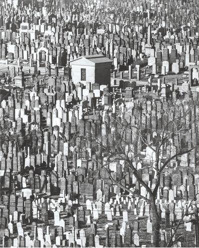 Andreas Feininger, 'Cemetery'