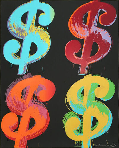 Andy Warhol, '$ (4) FS II.282', 1982