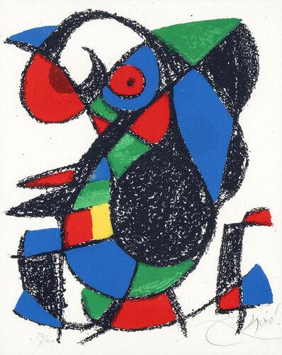 Joan Miró, 'Sans titre (Lithograph II)', 1975