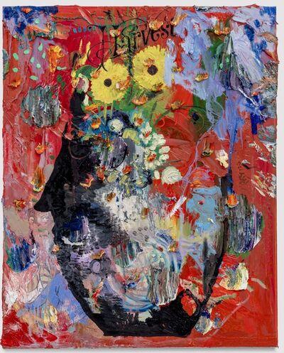 Friedrich Kunath, 'Harvest (Face Pot)', 2017