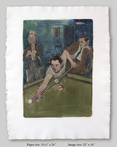 Malcolm T. Liepke, 'Pool Players', 2001