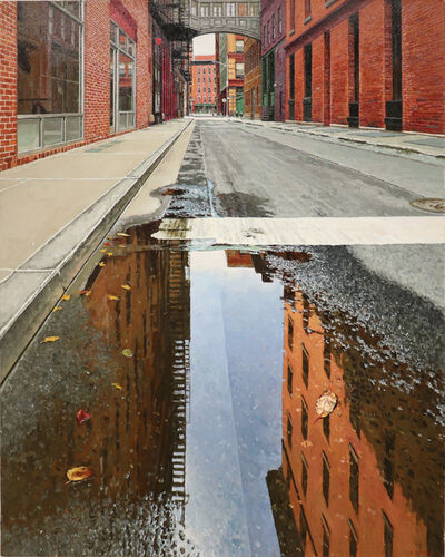 Richard Combes, 'Morning Reflection Staple Street Reflection', 2019