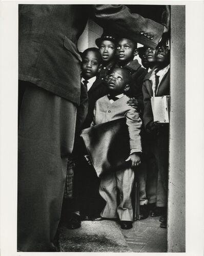 Gordon Parks, 'Black Muslim Rally, Harlem, New York', 1963