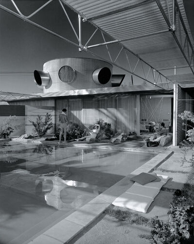 Julius Shulman, 'Albert Frey, Frey House, Palm Springs, California', 1999