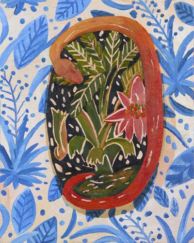 Anna Valdez, 'Ceramic Wall Snake', 2019