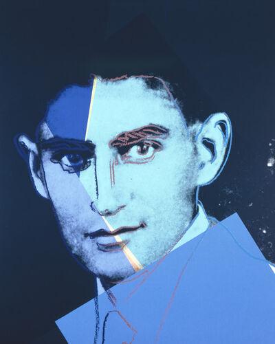 """Andy Warhol, 'Franz Kafka from """"Ten Portraits of Jews of the Twentieth Century"""" portfoliio', 1980"""
