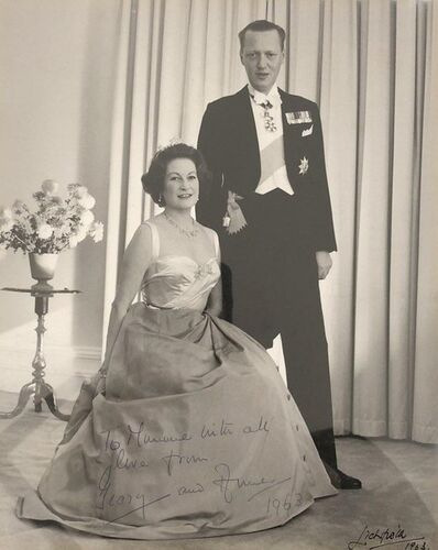 Patrick Lichfield, 'Lord Litchfield's Mother and Stepfather', 1963