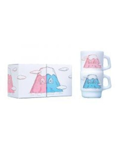 KAWS, 'KAWS: HOLIDAY Mount Fuji Stacking Mug (Set of 2)', 2019