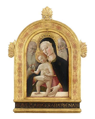 Benvenuto di Giovanni, 'Madonna and Child with Saints Jerome and Bernard', ca. 1475