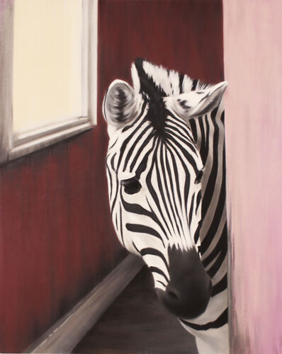BK FOXX, 'Zebra in a Pink House', 2016