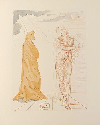 Salvador Dalí, 'La Divine Comédie - Enfer 02 - Virgile réconforte Dante', 1963