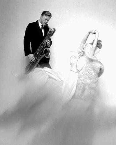 Bert Stern, 'Gerry Mulligan and Monique Chevalier, VOGUE', 1962