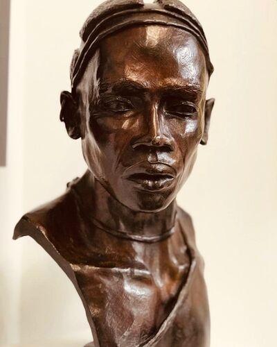 Brijite Bey, 'Homme 1 Nuba de Kau', 2012