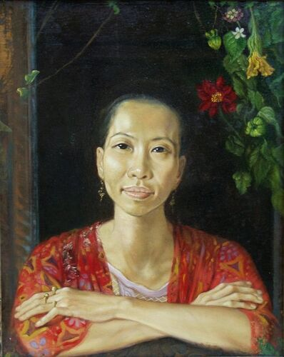 Anthony Christian, 'Ru Wang at the window', 1993