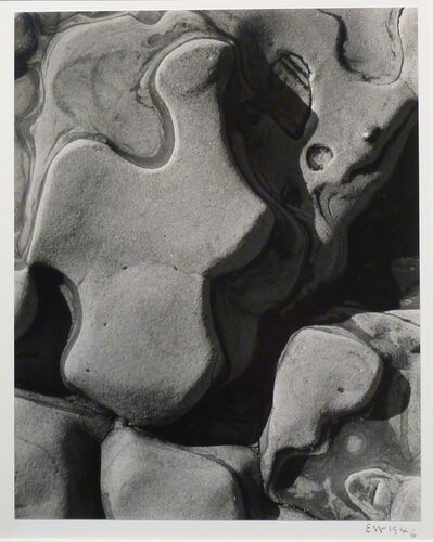 Edward Weston, 'Eroded Rock, Point Lobos (Sandstone Erosion)', 1946