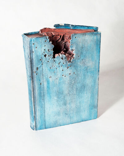 Barton Lidice Benes, 'Untitled (Chewed Book)', 1972-1974