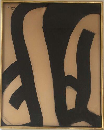 Jan Yoors, 'Charcoal Drawing', 1977