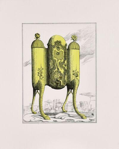 Pablo Bronstein, 'Tea Urn on Legs II', 2017