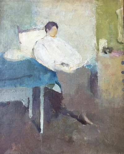 Margery Austen Ryerson, 'Woman Reading', 1915-1920