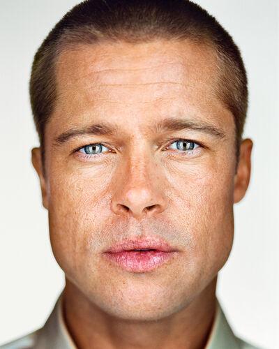 Martin Schoeller, 'Brad Pitt', 2004