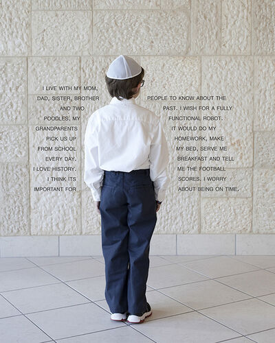 Judy Gelles, 'USA: Jewish Day School (Boy)', 2013