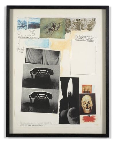 Robert Rauschenberg, 'Poster for peace', 1970-1971