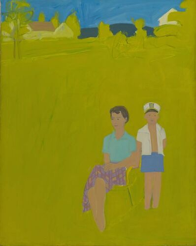 Alex Katz, 'Slab City Road', 1959