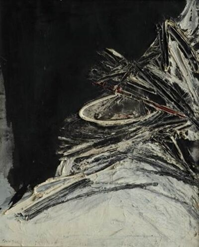 Rafael Canogar, 'S/T/ 1959/ Signed to the front and to the back', 1959